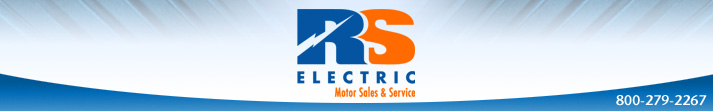 RS Electric Motors -Sales and Service 1-800-279-2267